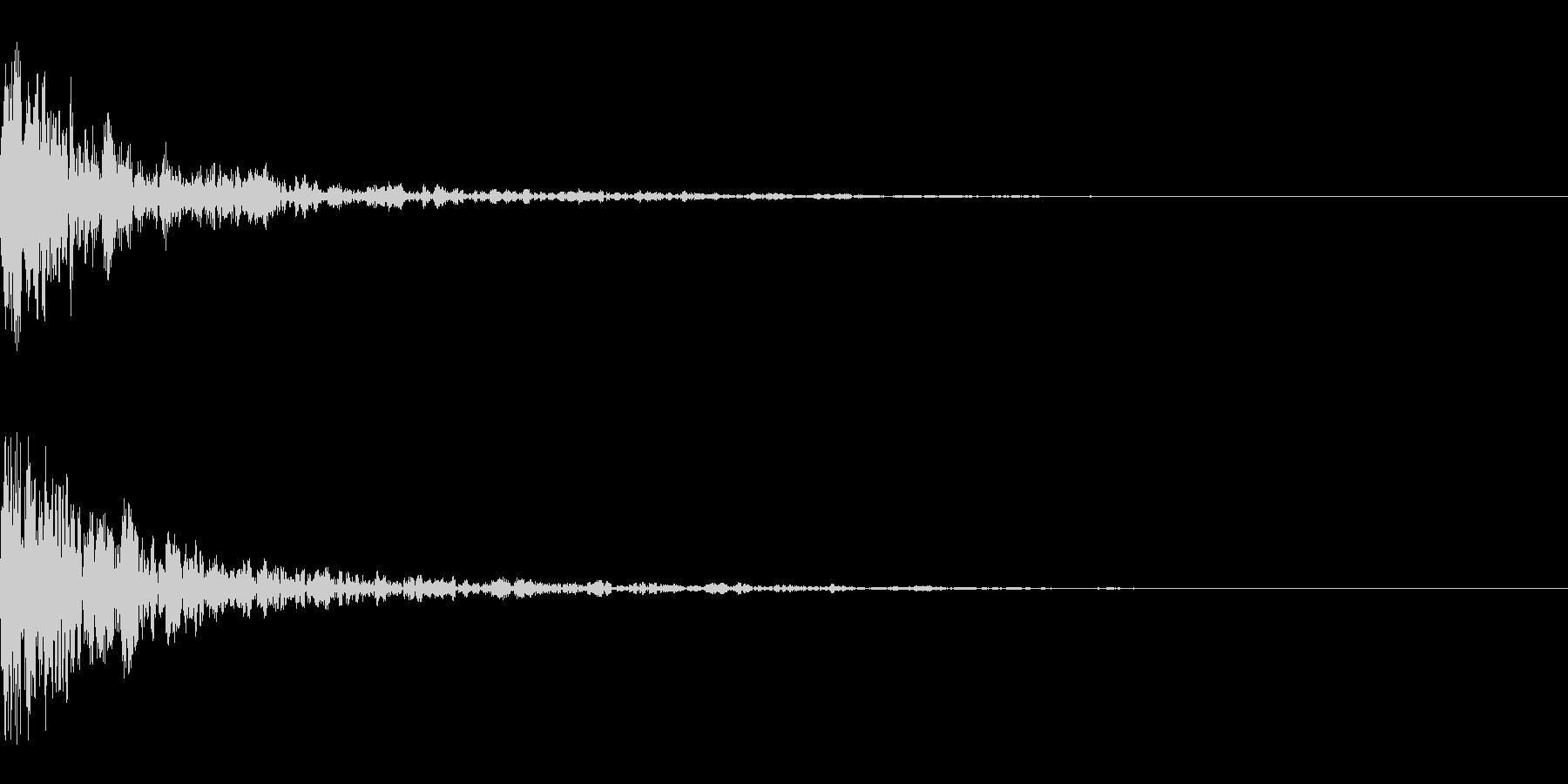 ドーン-47-1(インパクト音)の未再生の波形
