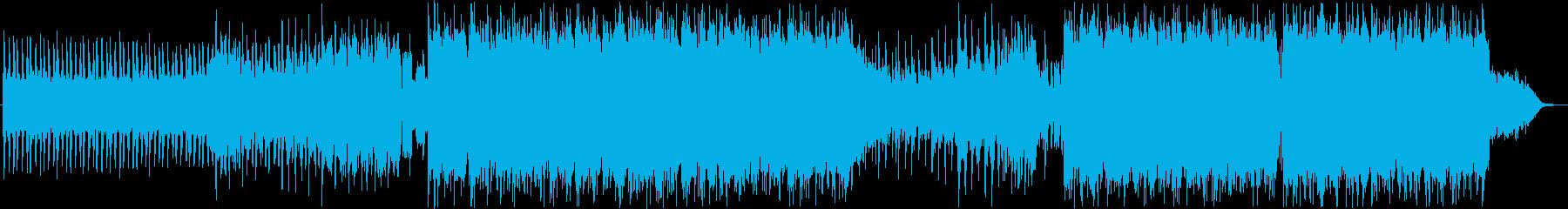 シーンをクールに彩るエレクトロ&ロックの再生済みの波形