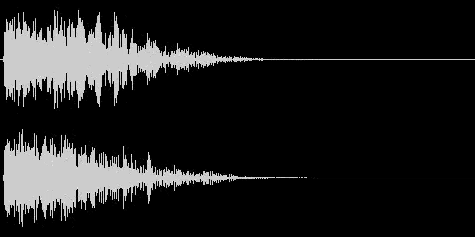 DJ,ラジオ,映像等のインパクトに!01の未再生の波形