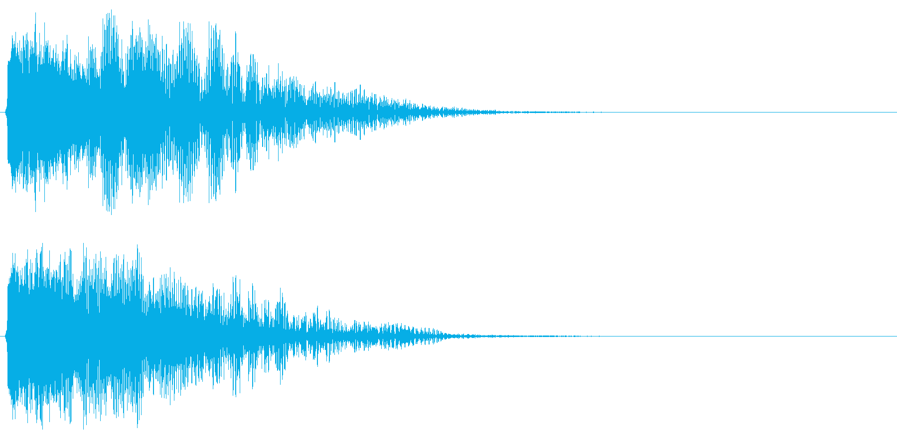 DJ,ラジオ,映像等のインパクトに!01の再生済みの波形