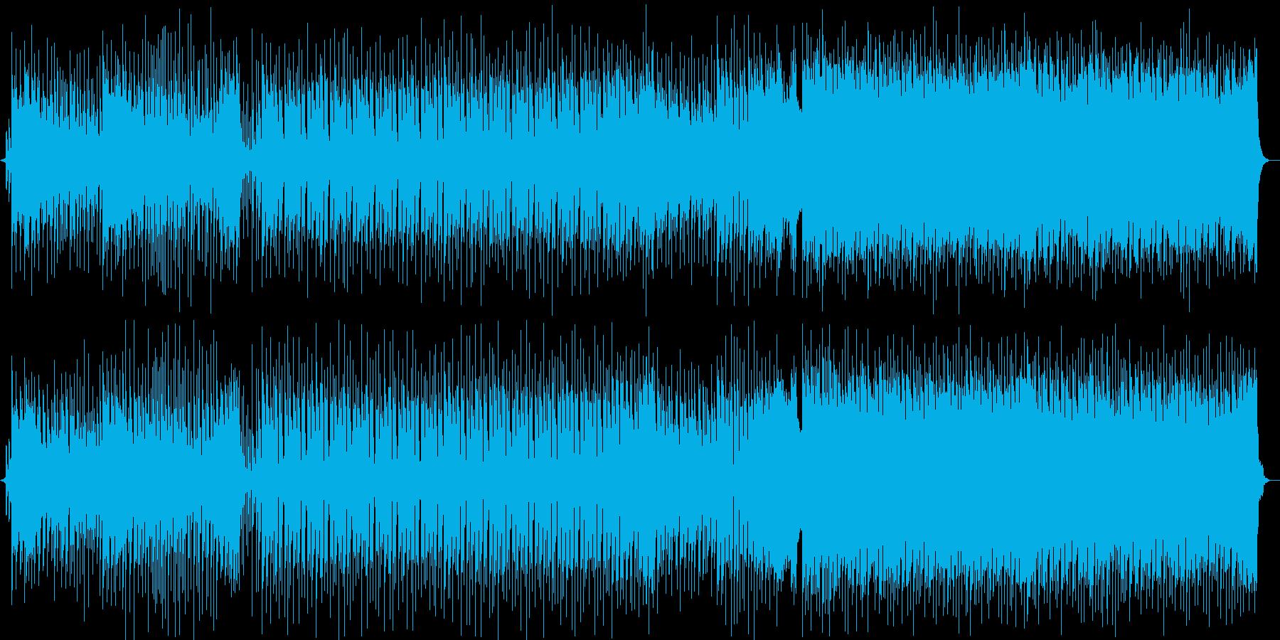 夕日・夏・トロピカル・エレクトロの再生済みの波形