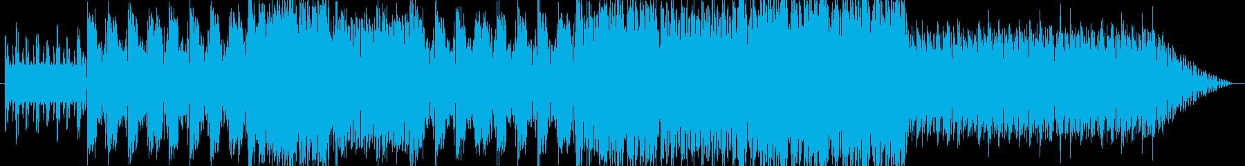 ダンス音楽ですが英語の歌詞を付けて歌っ…の再生済みの波形