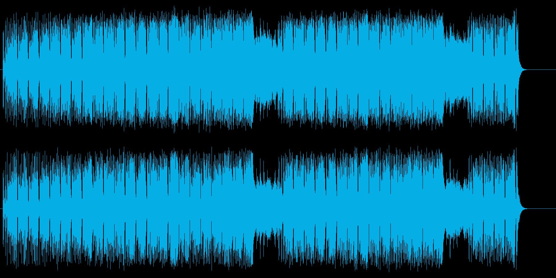 前向きなポップ/R&Bの再生済みの波形