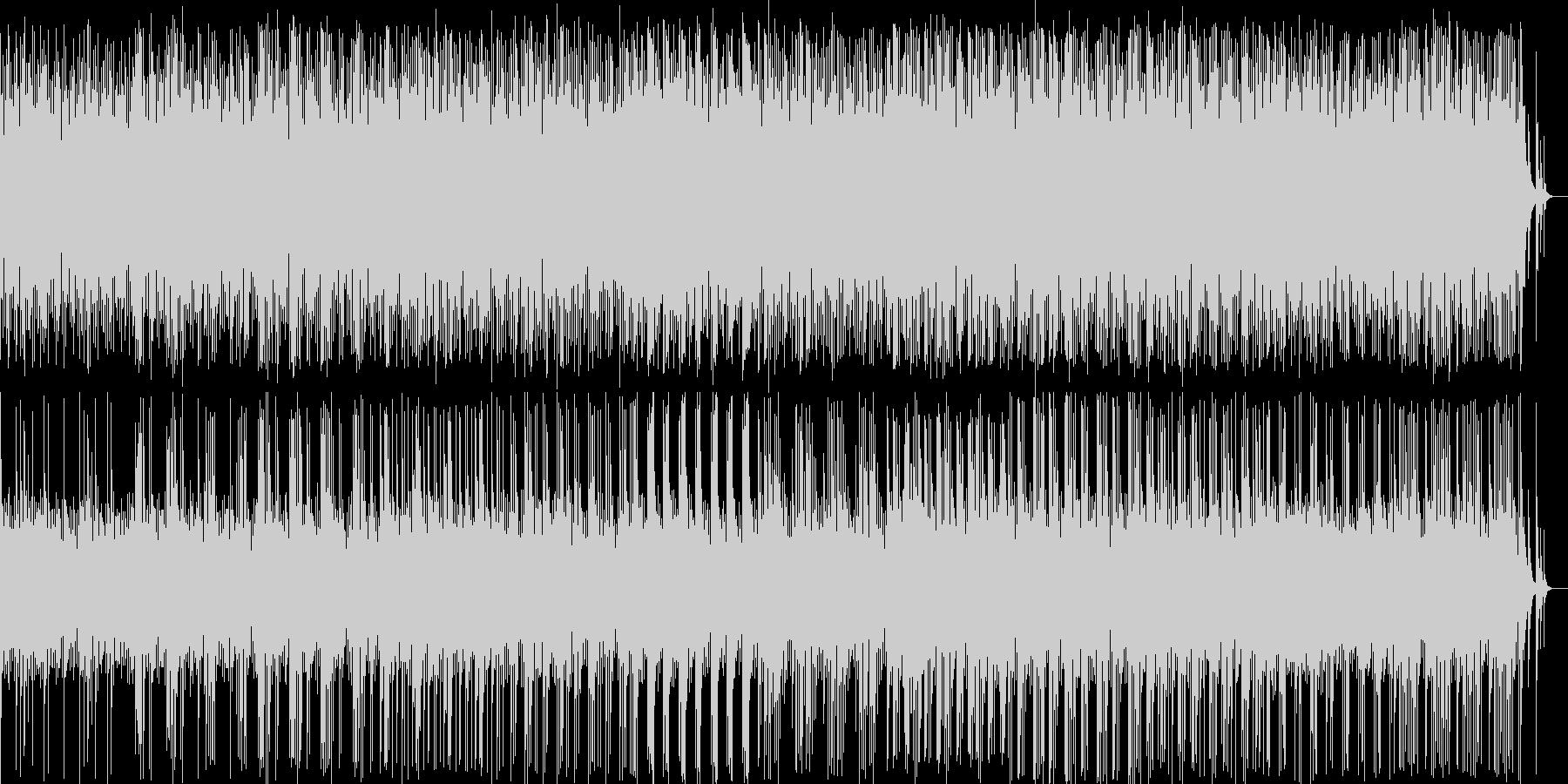 和風料理店に合う琴の音楽の未再生の波形