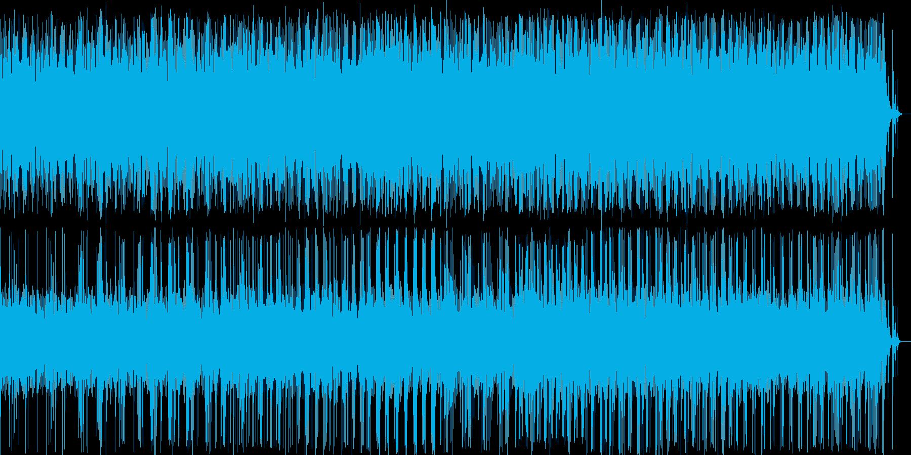 和風料理店に合う琴の音楽の再生済みの波形