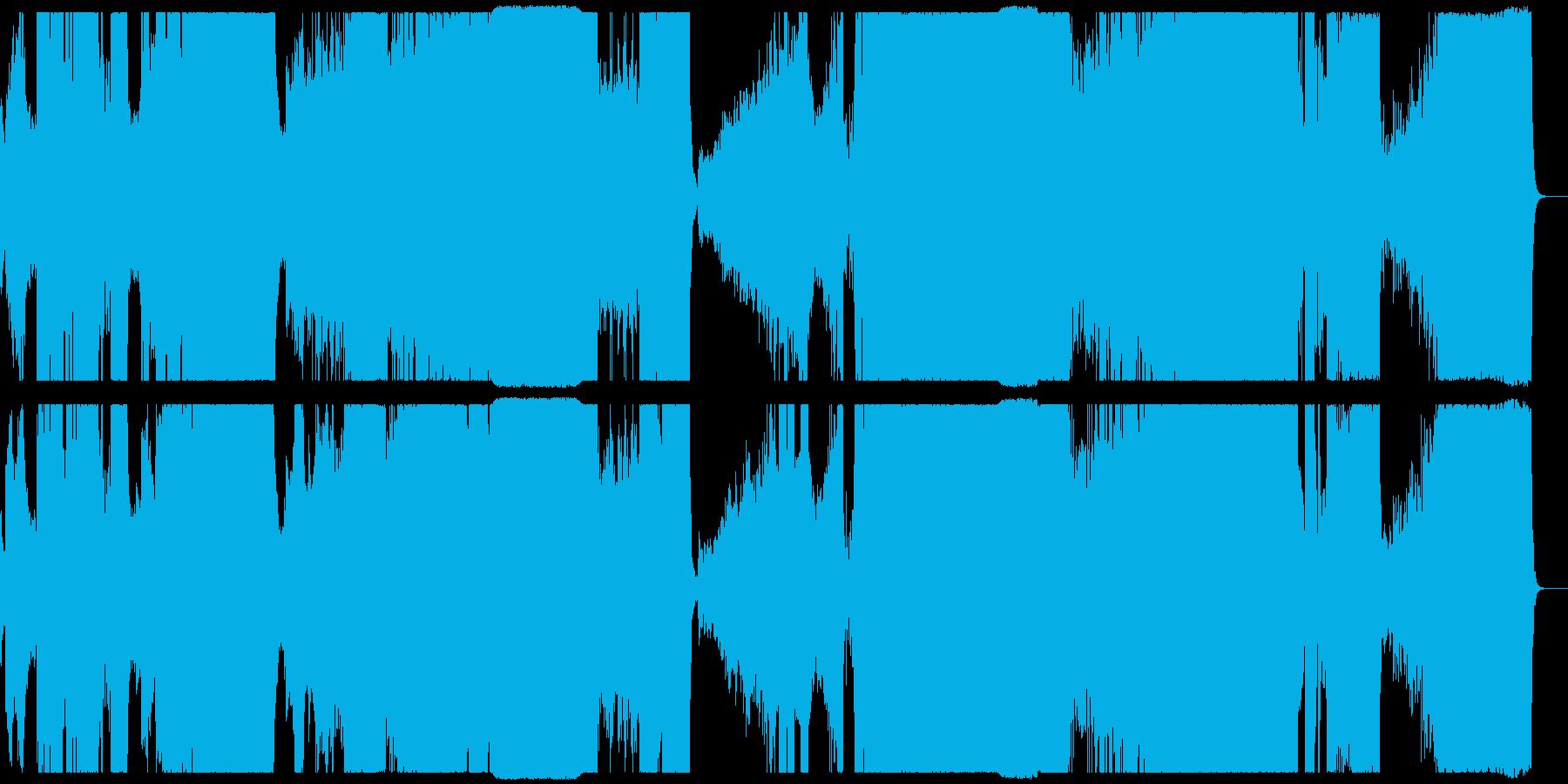 厳格で荘重なシンフォニックロックの再生済みの波形