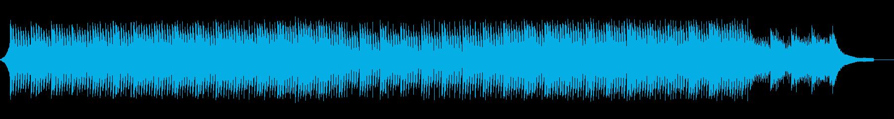 企業VP会社紹介透明感爽やか疾走感A19の再生済みの波形