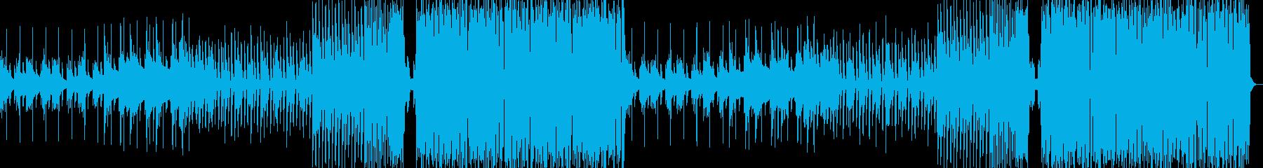 切ないメロディFuture Bassの再生済みの波形