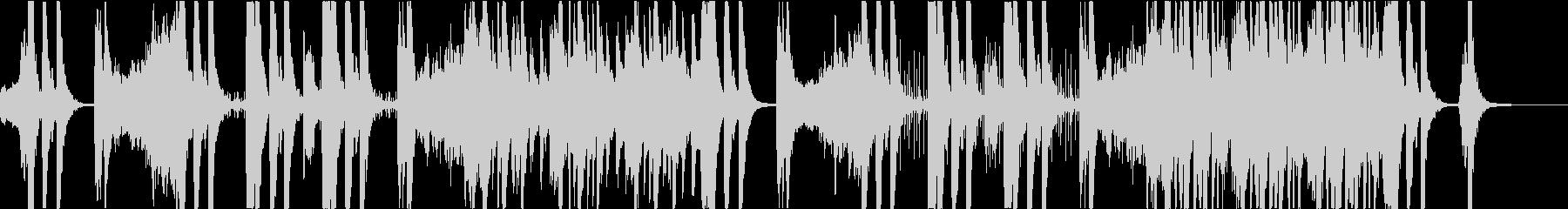 現代的 交響曲 アクティブ 明るい...の未再生の波形