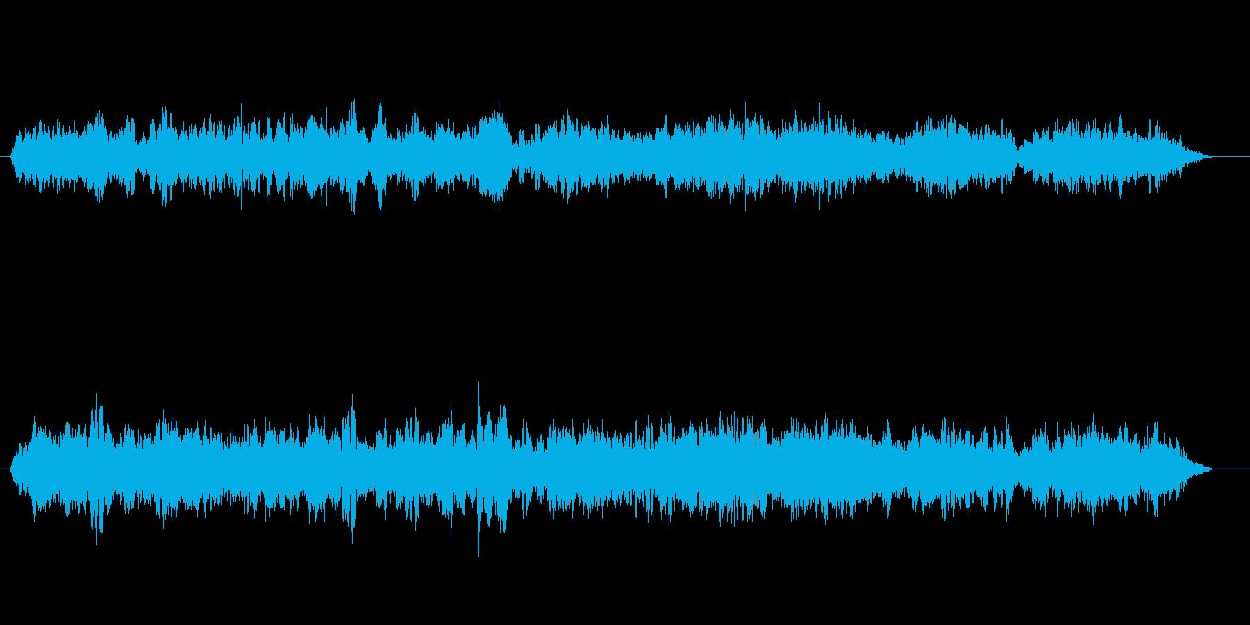 アメージンググレース・ヒーリングボイスの再生済みの波形