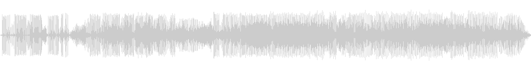 カエルの鳴き声-4の未再生の波形