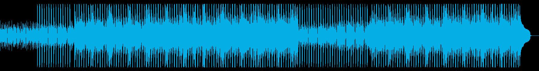 エネルギッシュで幸せで刺激的なムードのあの再生済みの波形