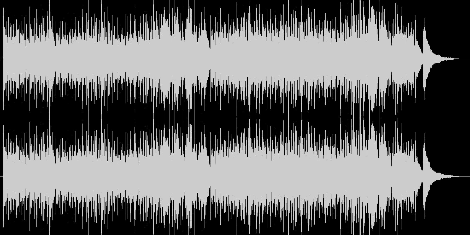 アコースティックギターによる雨の街2の未再生の波形