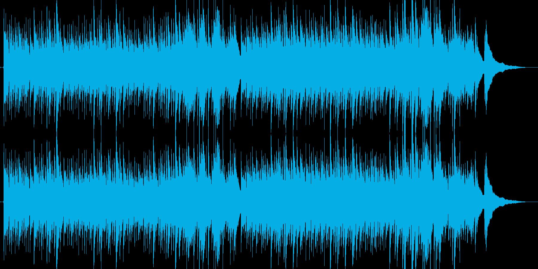 アコースティックギターによる雨の街2の再生済みの波形