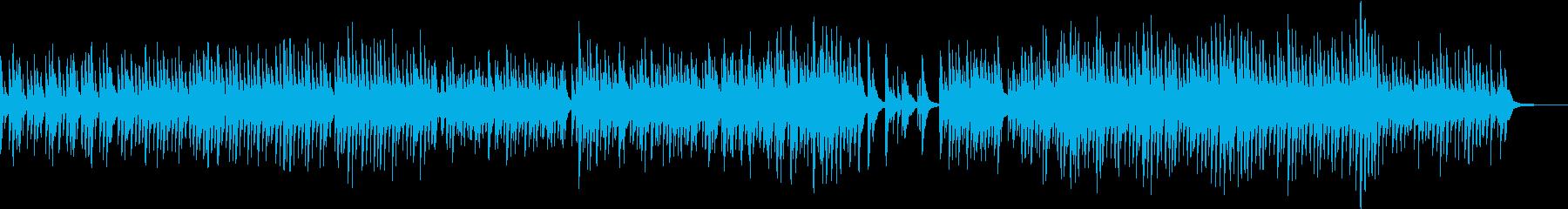 企業VPや映像に透明感・感動ソロピアノの再生済みの波形