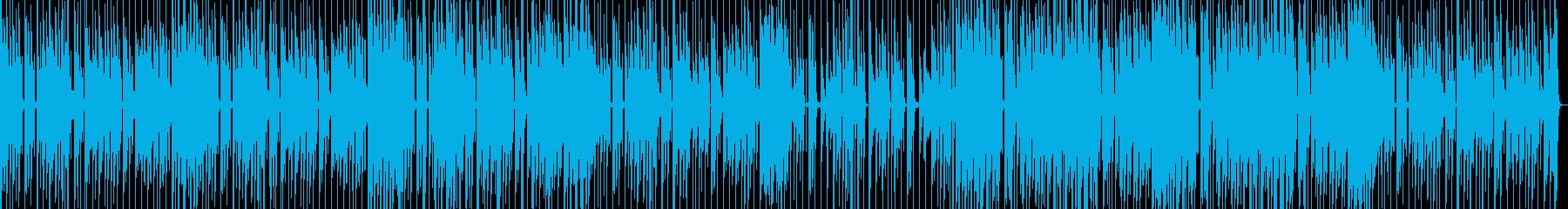 洋楽ポップスのようなおしゃれトラックの再生済みの波形