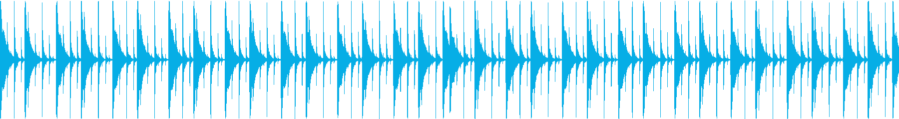 ジャンベ|リズム・ループ 4の再生済みの波形