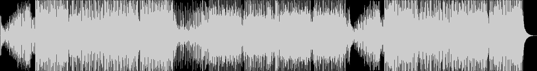 ゆったりしたメロディが楽しいトロピカルハの未再生の波形