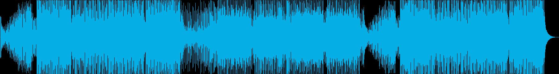ゆったりしたメロディが楽しいトロピカルハの再生済みの波形
