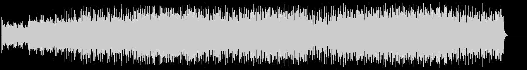 テイクオフしてゆくスリリングなサウンドの未再生の波形