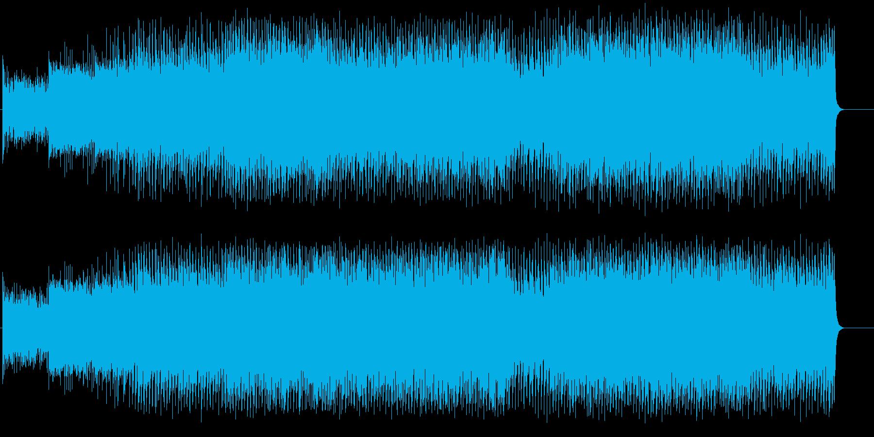 テイクオフしてゆくスリリングなサウンドの再生済みの波形
