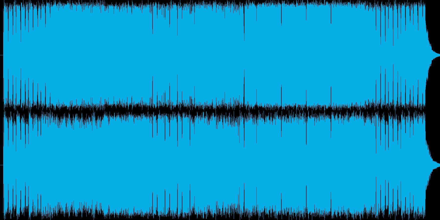 バトル、アクションシーン等で使えるBGMの再生済みの波形