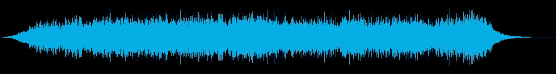 アラビア砂漠の夜(60秒)の再生済みの波形
