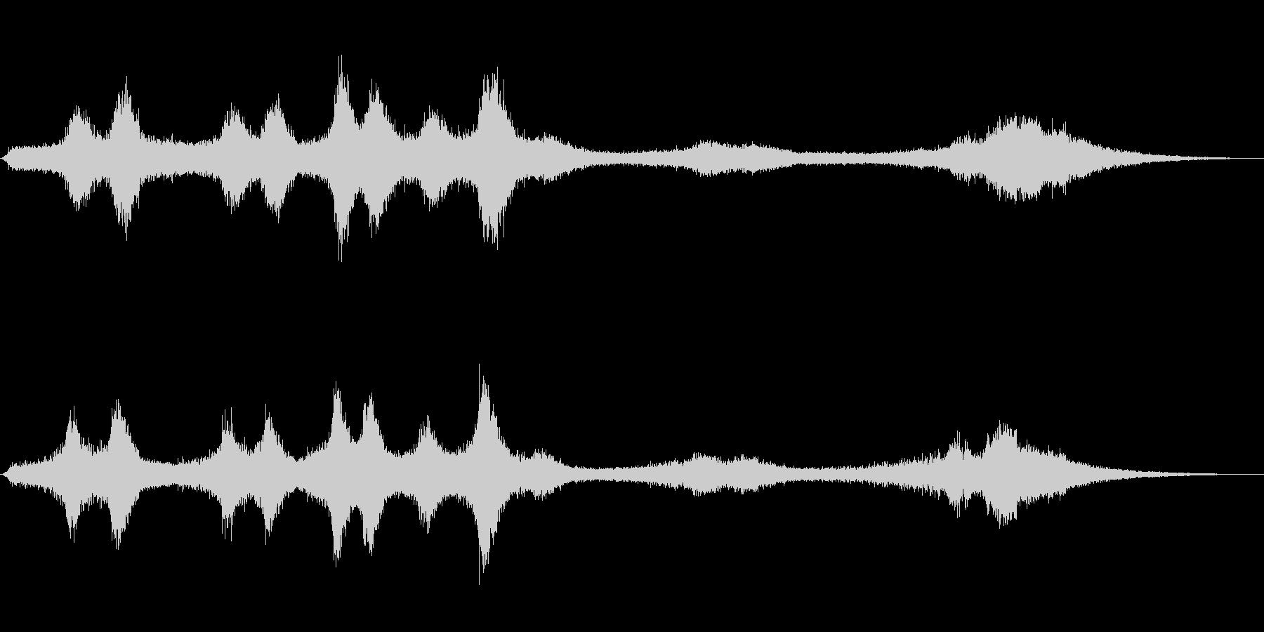 【生録音】 早朝の街 交通 環境音 25の未再生の波形