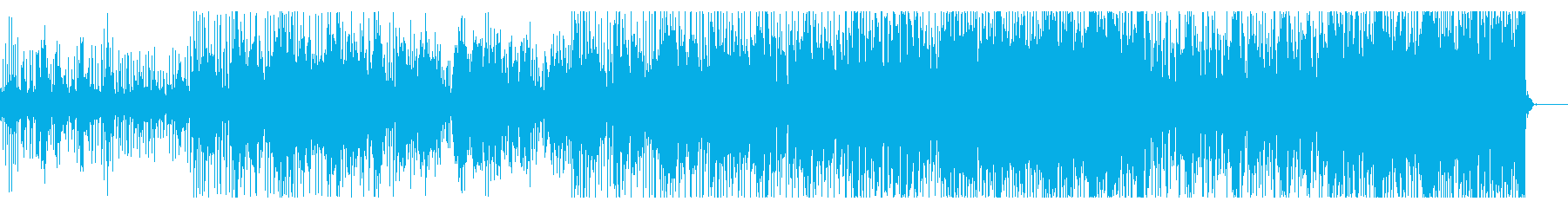 奇妙に捻れたテクスチャIDMの再生済みの波形