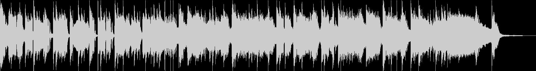 サイケなファンクロックバンド30秒の未再生の波形