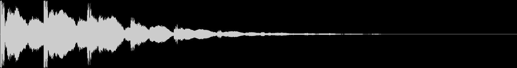 チャリン:ゲームのスタート音・コインの未再生の波形