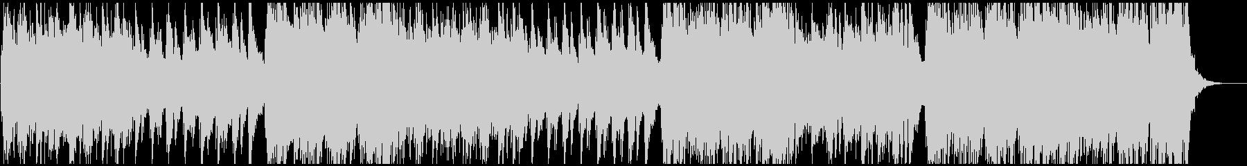 ドラムレス、美しいアルペジオバラードの未再生の波形