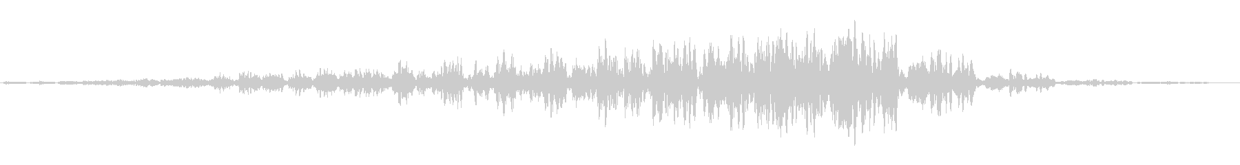 シャララ系シューン(不安な感じの音)の未再生の波形