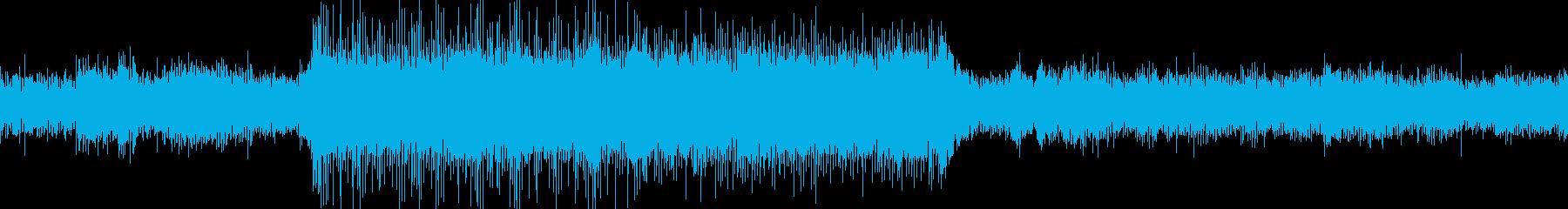 不気味/ホラー/暗い/ループの再生済みの波形