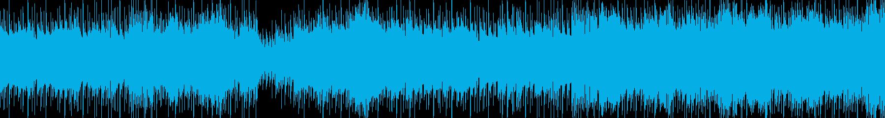 クールな雰囲気のTRAP MUSICす。の再生済みの波形