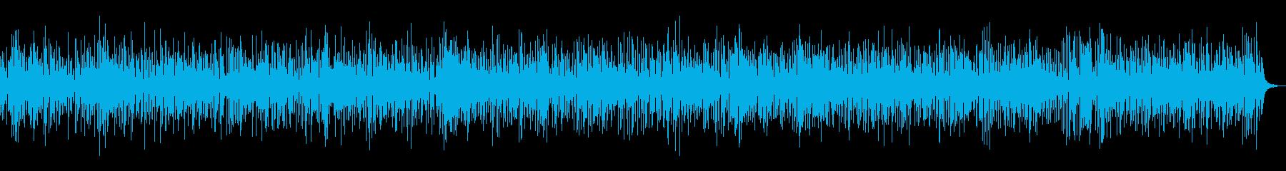 爽やかでおしゃれな夏ボサノヴァギターの再生済みの波形