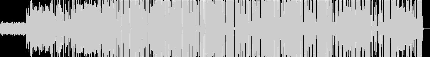ベースEDMにファンクなテイストの未再生の波形