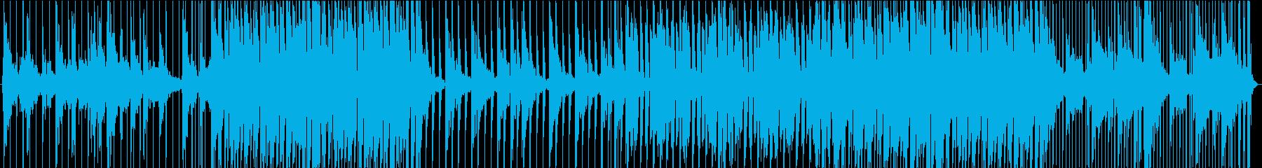 優しく包まれる様な四つ打ちR&Bの再生済みの波形
