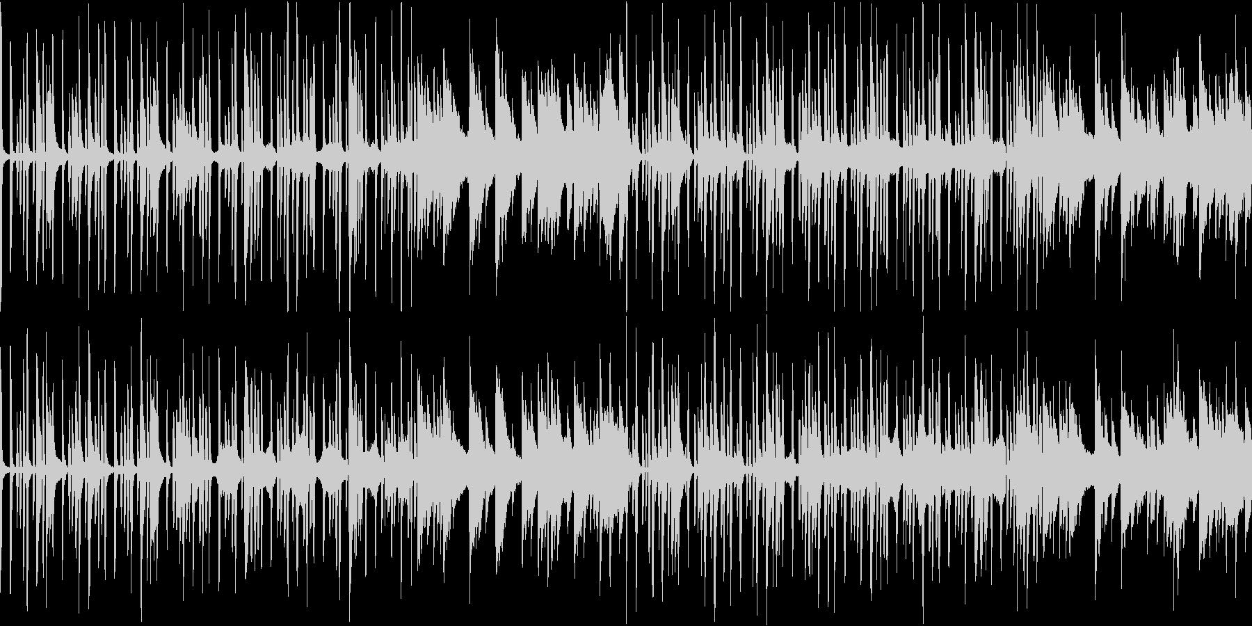 【リズム抜き】ほのぼの明るい素朴なBGMの未再生の波形