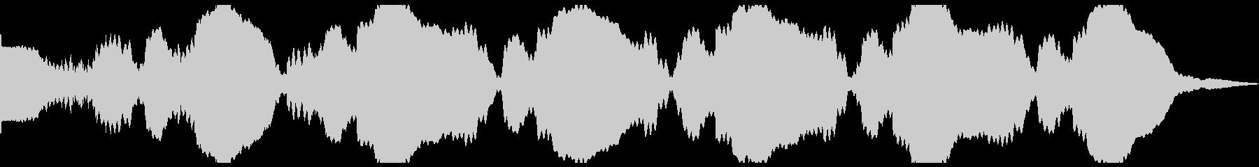 テキストグローゴングパルスの未再生の波形