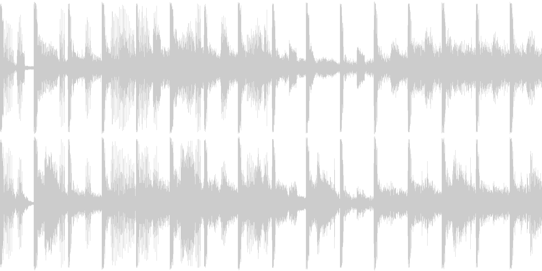 企画説明/ギターカット/ポップ/BGMの未再生の波形