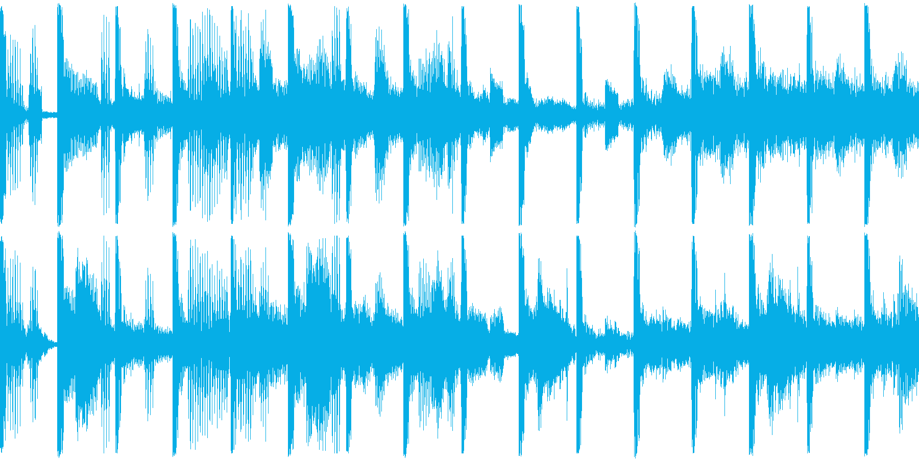 企画説明/ギターカット/ポップ/BGMの再生済みの波形