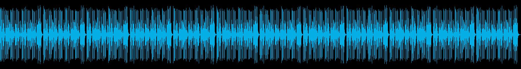 かわいくてコミカルなBGMの再生済みの波形