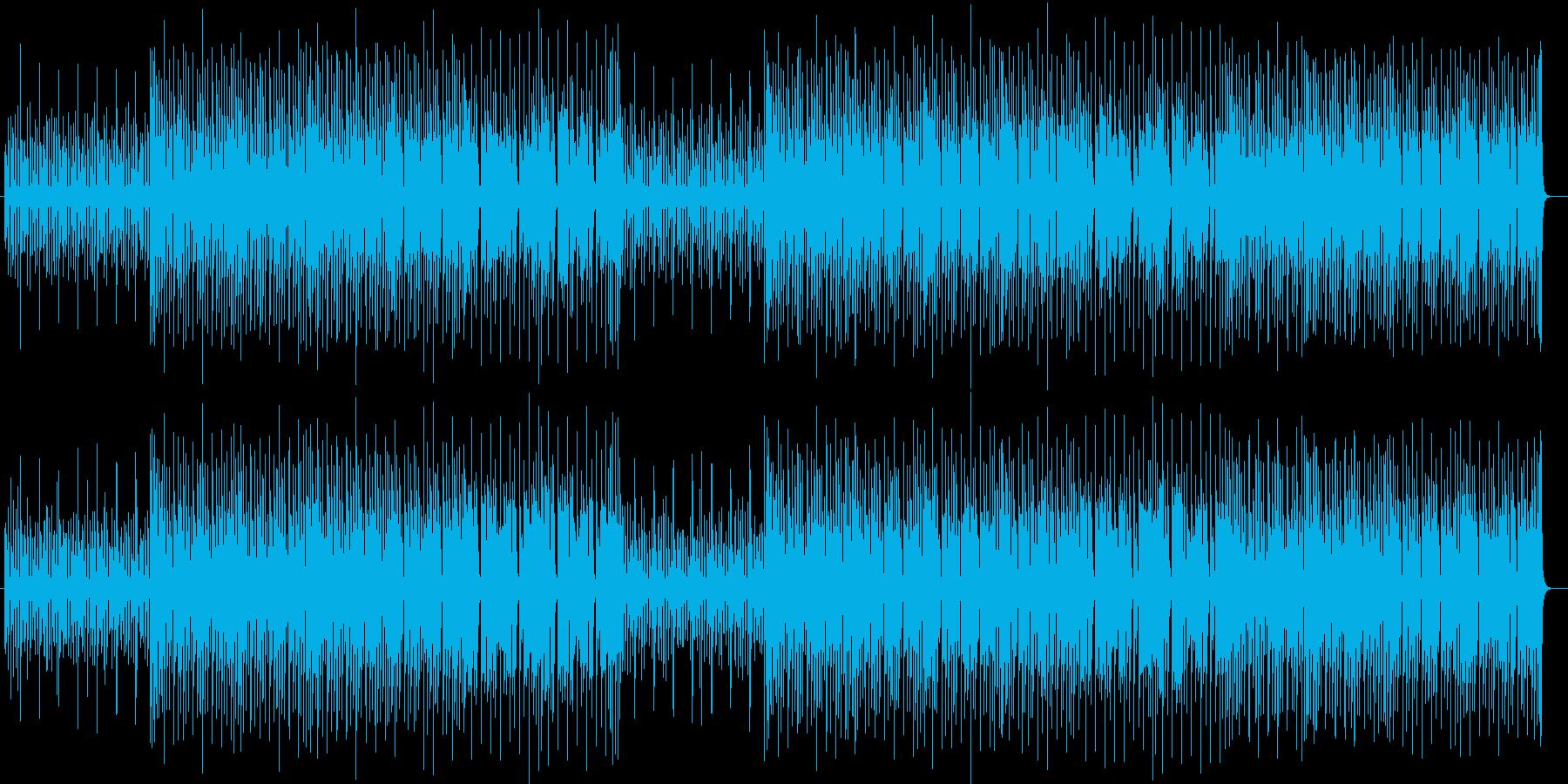 おしゃれでキャッチーなシンセサウンドの再生済みの波形