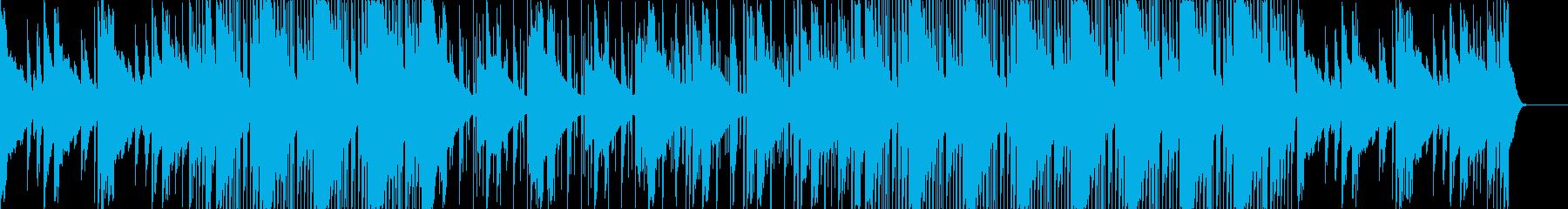 洋楽系カッコイイ忍者和風ヒップホップの再生済みの波形