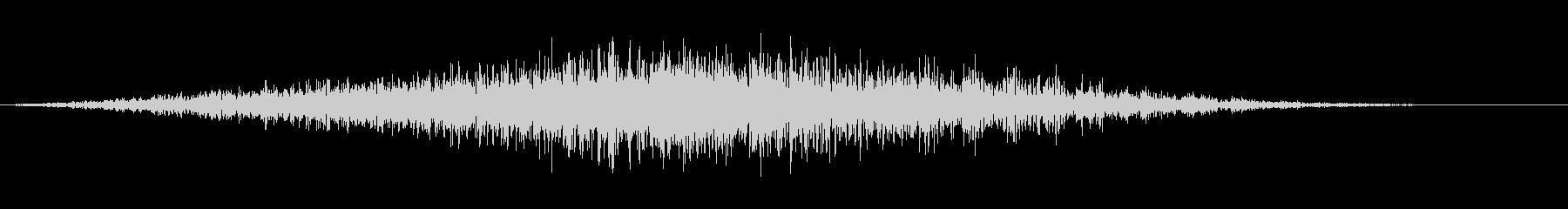 シューシュフーシュの未再生の波形