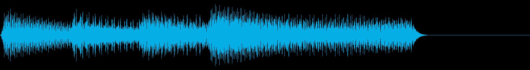 チャラララ♪/ピコピコ宿屋回復/魔法の再生済みの波形