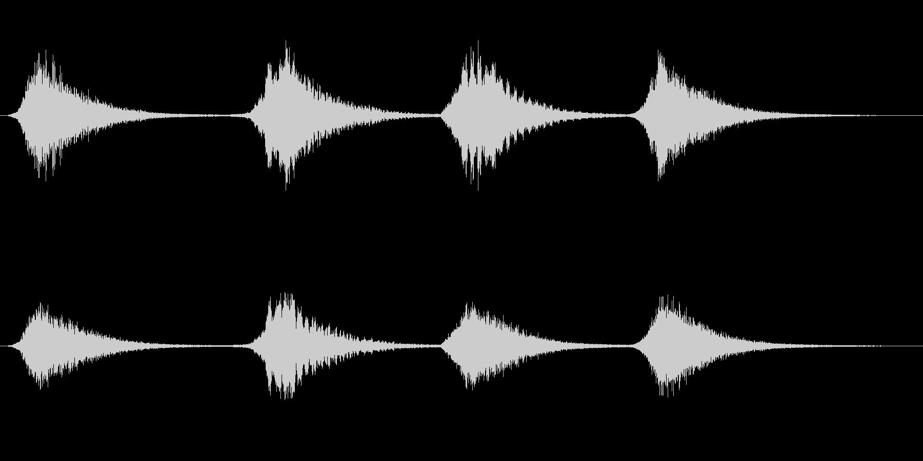 メタルブレス1の未再生の波形