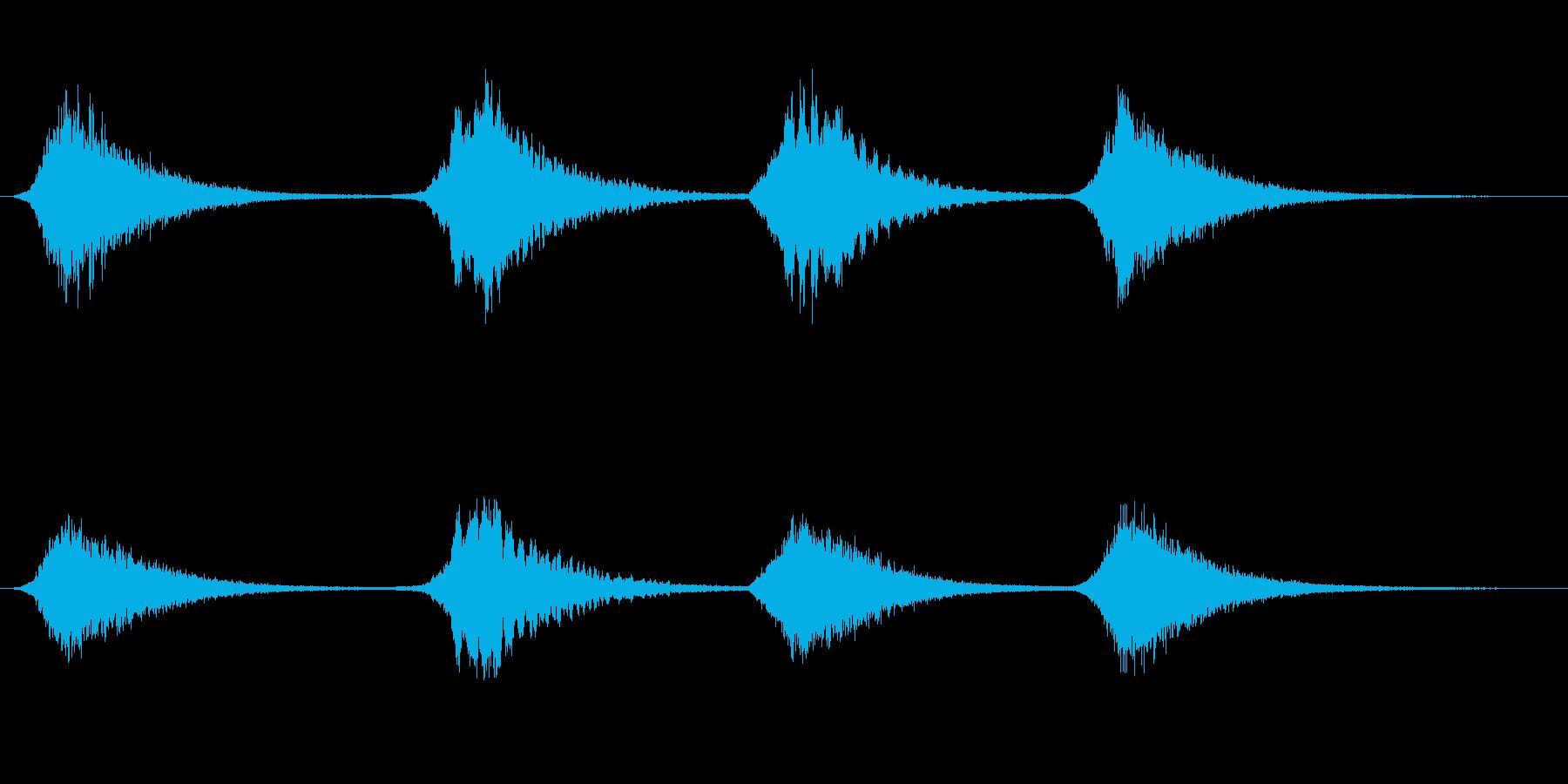 メタルブレス1の再生済みの波形