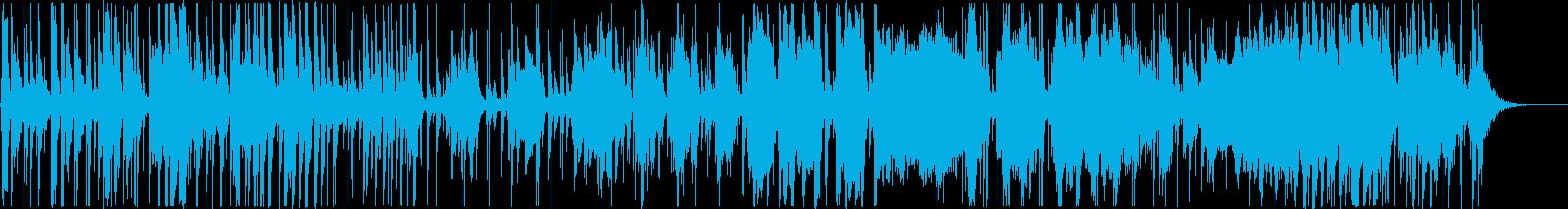 エスニック。トリオ即興ドラム、シタ...の再生済みの波形